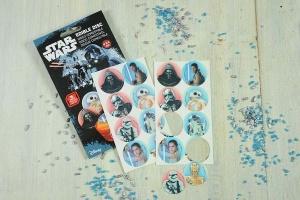 Star Wars Zucker-Aufleger, 16 Stück mit Ø 3,4 cm