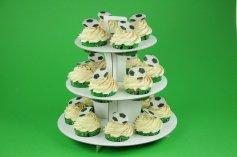 Muffin-Etagere für 18 Muffins oder Cupcakes, 3-stufig