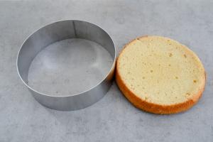 Tortenring Alu, 26 cm Durchmesser, 8 cm hoch
