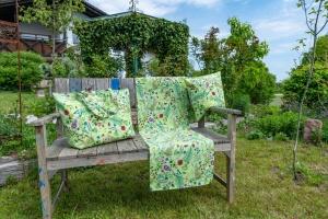 Markttasche, Garten-Potpourri, Dralon Outdoor, 38x55x18 cm