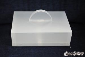 Tortenbox faltbar mit Kühlmöglichkeit matt 37x25x11 cm