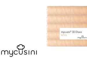 Lebensmitteldrucker Nachfüllpack, Fettglasur Weiß, 5 Stk.