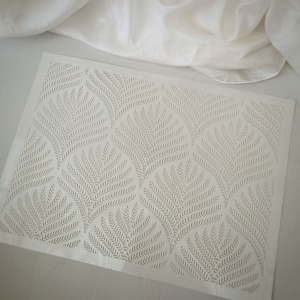 Tortenschablone Weizen, PET, 22x30 cm