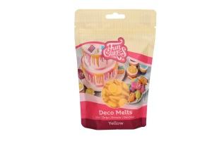 Schmelzschokolade gelbe Fettglasur, 250 g