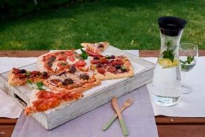 Geschenkbox: Pizza