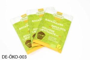 Bio-Backpulver, 2 x 3 Beutel à 10 g