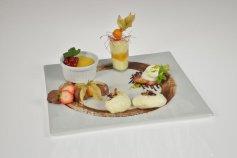 Dessertset: Fünf cremige Variationen