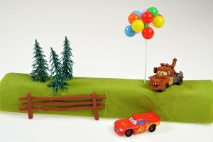 Cars-Set für Thementorten -ausverkauft-Ersatzartikel 400872