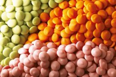 Callebaut Callets - Orange, 300-g-Dose