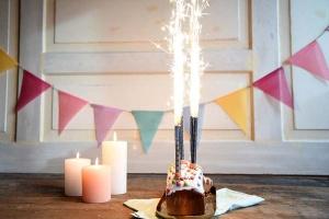 Torten- und Eis-Feuerwerk, ca. 15 cm, 4 Stück
