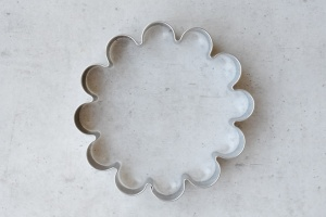 Ausstecher Blume, Ø 9 cm, Edelstahl