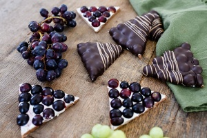 Ausgewählte Zutaten für Traubenecken
