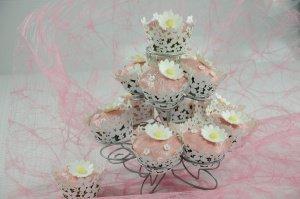 Muffin-Ständer für 13 Muffins oder Cupcakes, 3-stöckig