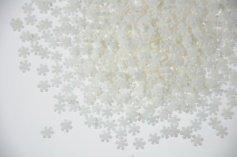 Schneeflocken aus Zucker weiß, 100-g-Dose