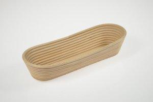 Gärkorb lang aus Peddigrohr für Brote bis 1500 g