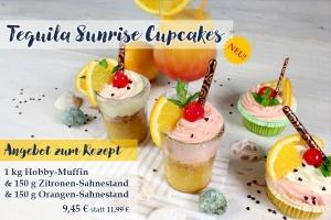 1kg Hobby-Muffin+Zitronen-Sahnestand+Orangen-Sahnestand