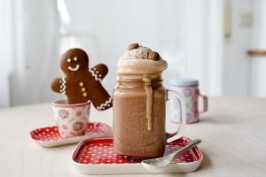 Ausgewählte Zutaten für Heiße Karamellschokolade
