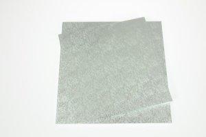 Cake Board / Tortenplatte, 40x40x1,2 cm, silberfarben