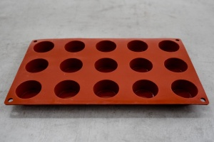 Silikon-Matte 15 Petit Fours 1/3 GN 17,5, x 30 cm