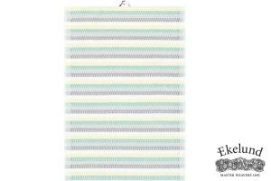 Geschirrtuch, Streifen, 100 % Bio Baumwolle, 35x50 cm