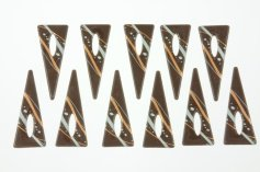 Schoko-Triangeln Galaxis, Zartbitter 7 x 2,5 cm, 24 Stück