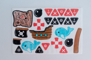 Kuchen Tattoo Pirat
