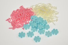 Frozen Zuckerdekoration im Streuer, 3-fach sortiert, 88 g
