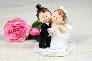 Brautpaar mini, ca. 10 cm