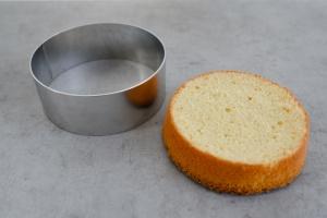 Tortenring Alu 16 cm Durchmesser, 6 cm hoch