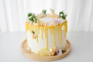 Backset: Sommerliche Zitronen Torte