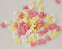 Zucker-Schmetterlinge, farbig sortiert, 100-g-Dose