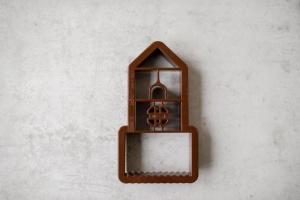 Ausstecher Lebkuchenhaus klein