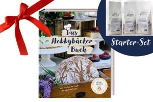 Geschenkset Basic: Jubiläumsbackbuch & Starterset