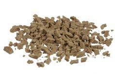 Schokoladen-Splitter Vollmilch-Nugat, grob, 100 g