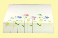 Tortenschachtel Flora, 40x40x10 cm