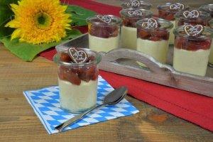 2x150g Bayrische Creme Dessertpulver+Alles Liebe Herzen