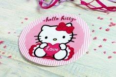 Hello Kitty, Oblaten-Aufleger, Ø ca. 15 cm