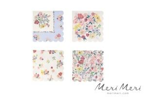 Meri Meri Papierservietten Blumen, 16 Stk., 25,5x25,5 cm