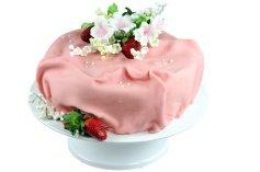 Modellier- und Rollschokolade Erdbeere, 600-g-Dose
