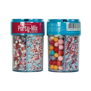 Streusel Mix Party Mix, bunt, 4-tlg., 95 g