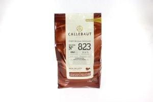 Callebaut 823 Milchschokolade 2,5 kg