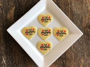 Tortenaufleger Set, best mom ever&Alles Liebe zum Muttertag
