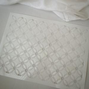 Tortenschablone Kreise, PET, 22x30 cm