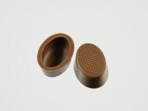 Pralinen-Schalen oval Vollmilch  63 Stück