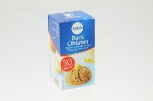Backoblaten 5 cm für kleine Lebkuchenmühle  100 Stück