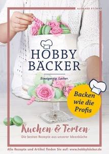 """Rezeptheft """"Kuchen und Torten"""" Ausgabe 01/17"""