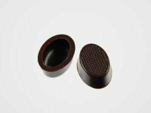 Pralinen-Schalen oval Zartbitter  63 Stück