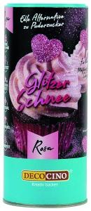 Glitzer Schnee, rosa, 100 g