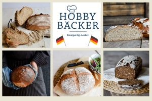 Bread baking set: best of German bread