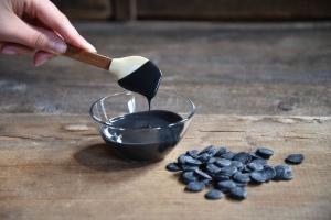 Schmelzschokolade schwarz Fettglasur, 250 g